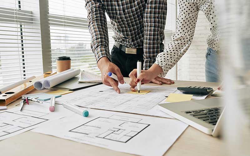 Retrospective planning applications