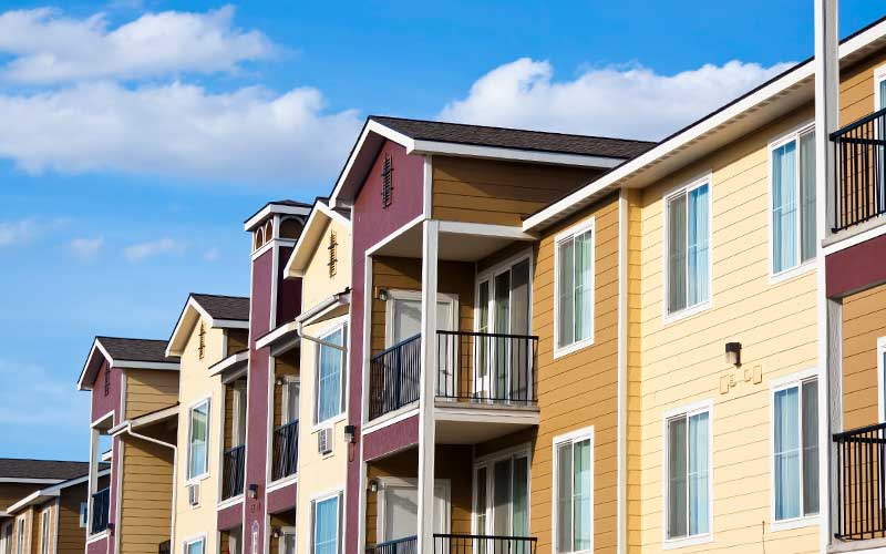 Residential Town Planning for townhouses